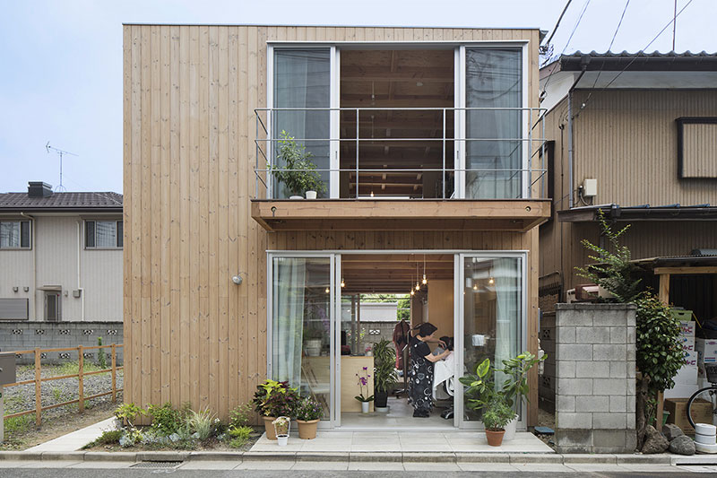 Wooden Box House / Suzuki Architects