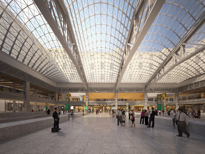 Penn Station's 5th Redesign Fails to Charm Some Critics