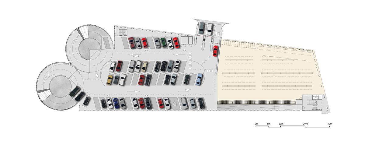 Used Car Floor Plan: MoederscheimMoonen Architects Wins Design Tender For P&R