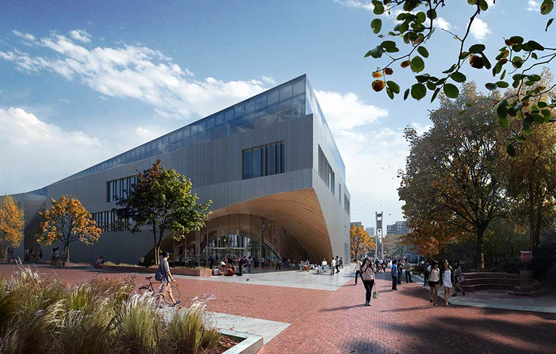 Snøhetta designs New Library for Temple University in Philadelphia