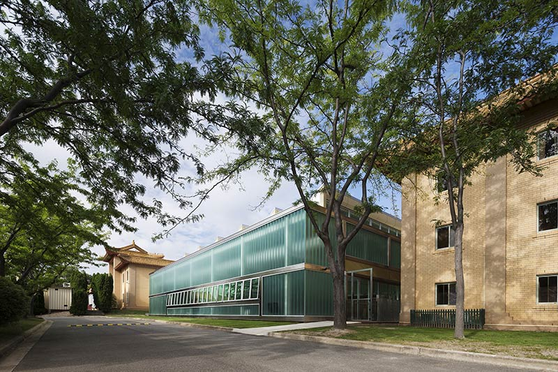 China Embassy Pool Enclosure / Townsend + Associates Architects