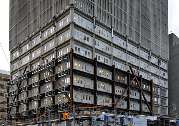 How a Toronto office tower gets turned into a condo