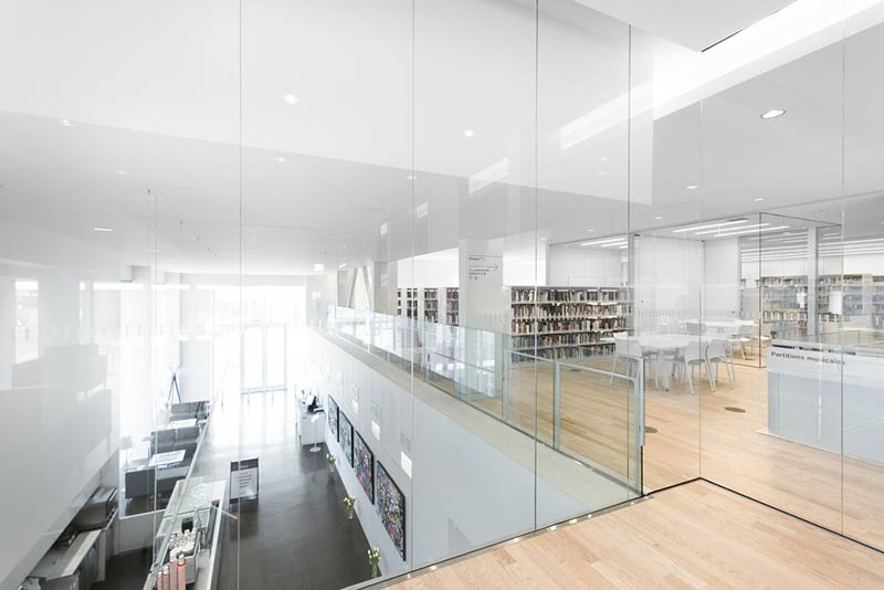 Saul-Bellow Library / Chevalier Morales Architectes