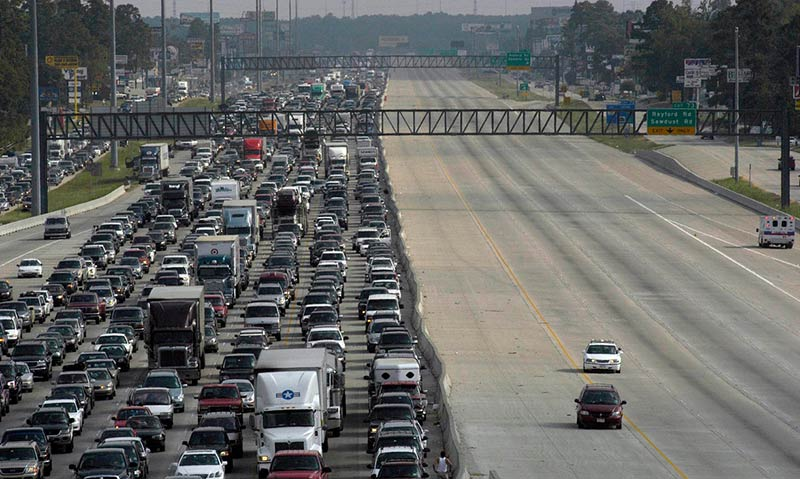 If roads are gridlocked in rush hour, what happens when disaster strikes?