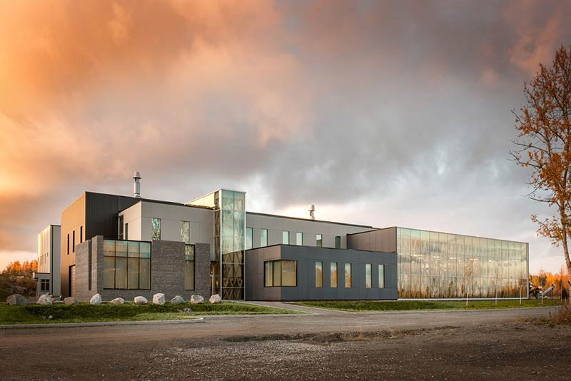 Industrial Residues Technological Center / Groupe Conseil Trame - BGLA