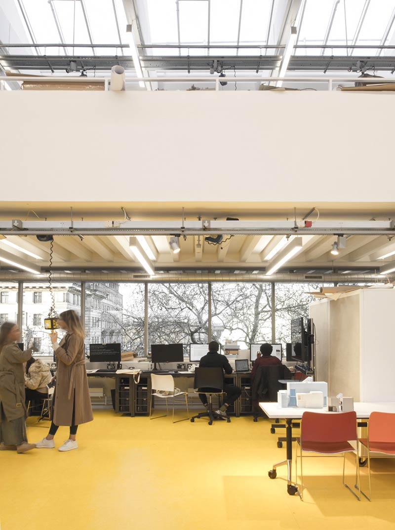 Jestico + Whiles completes refurbishment of the architecture studios at University of Westminster