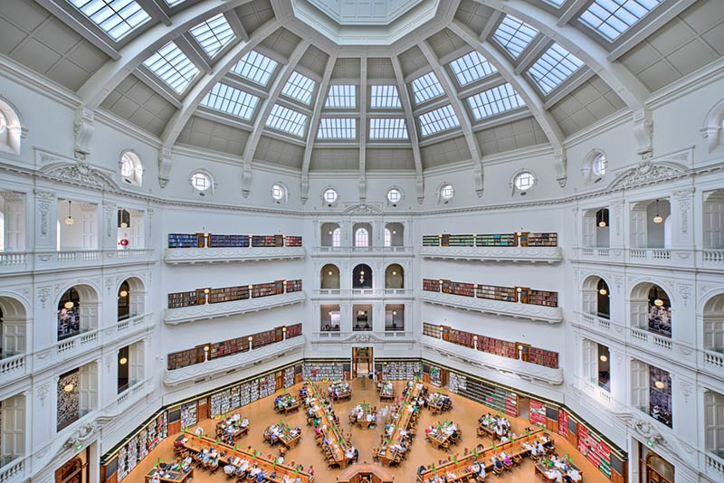 schmidt hammer lassen architects shortlisted in Melbourne for the $83 million State Library Victoria Vision 2020
