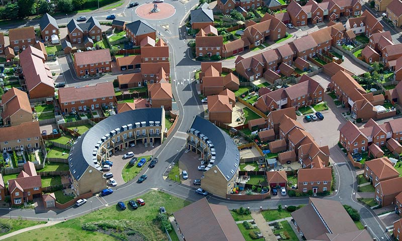 How the UK government is handing housing over to private developers