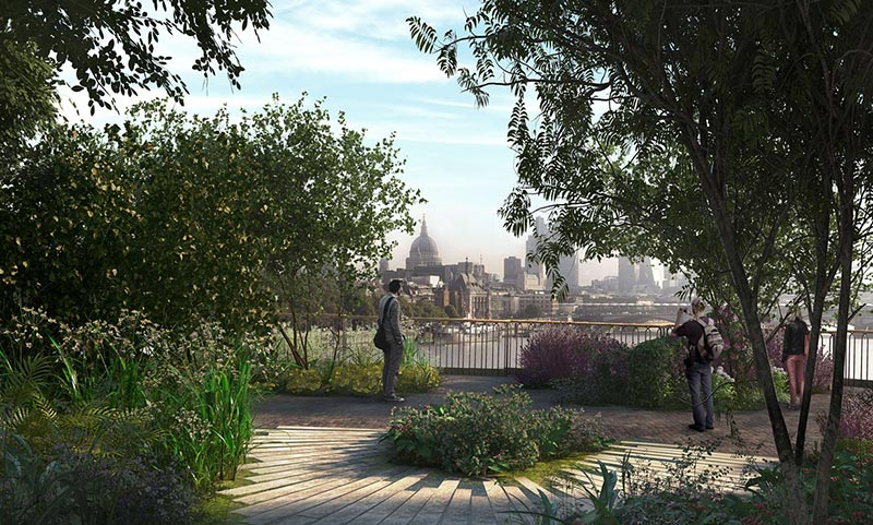 London's garden bridge: will 'tiara on the head of fabulous city' ever be built?