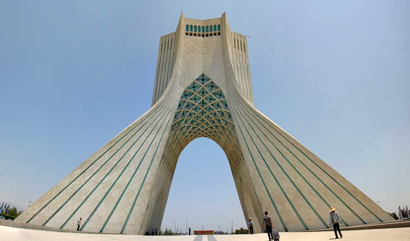 The man behind Iran's most famous tower
