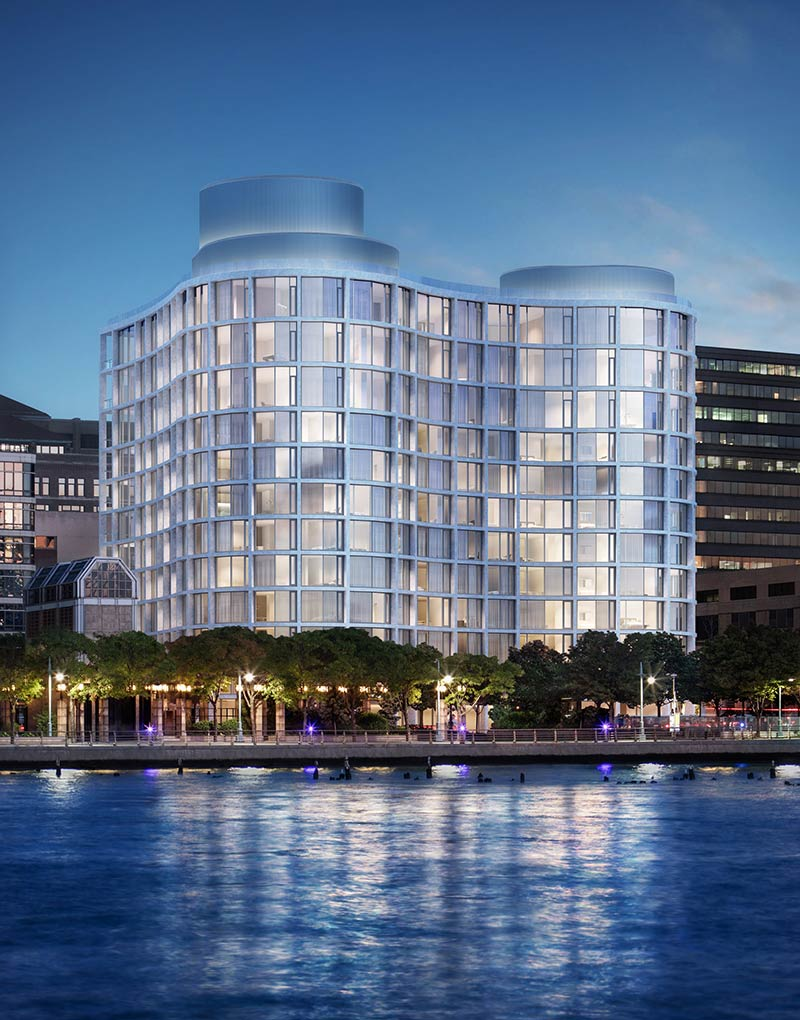 Ian Schrager and Herzog & De Meuron to create a building spanning a full city block in New York's West village