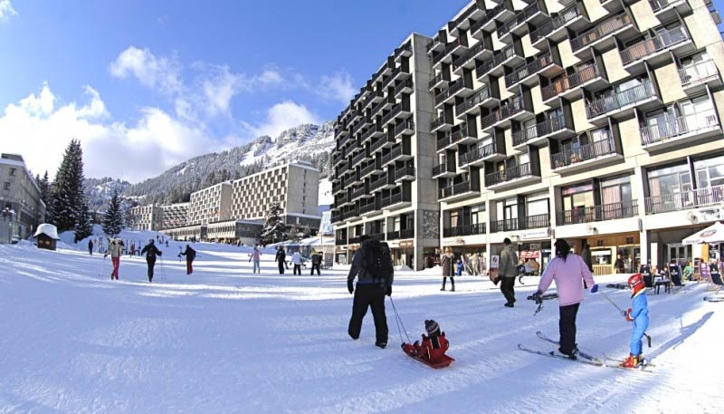 French Alps: Ski your way through iconic architecture in Flaine