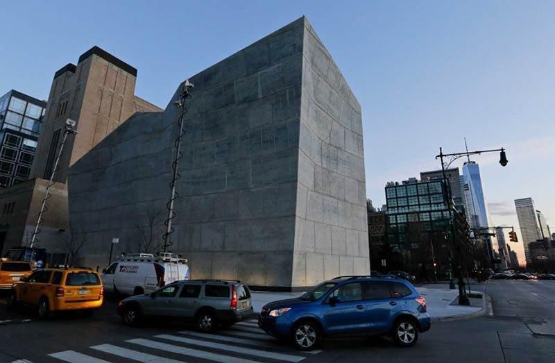 New York City Salt Shed got its first big wintertime test in weekend storm