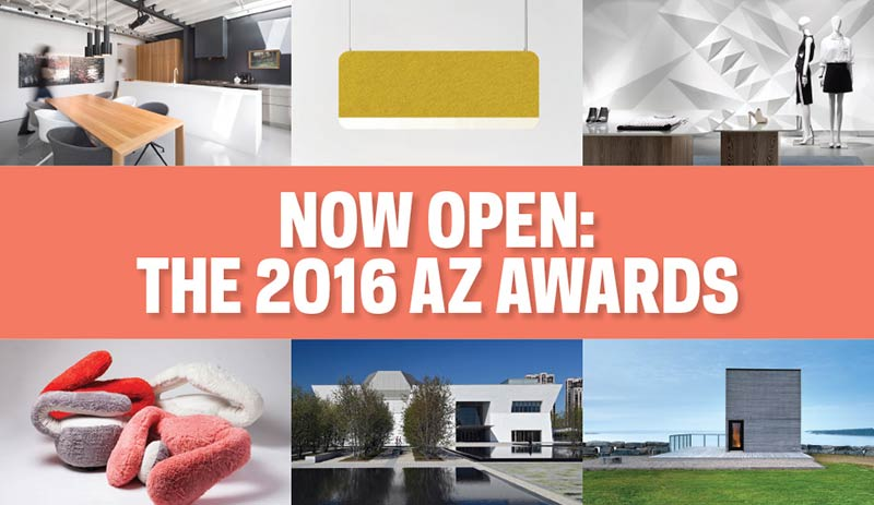 Call for submission - 2016 AZ AWARDS