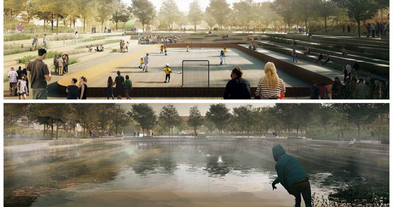 Why Copenhagen is building parks that can turn into ponds