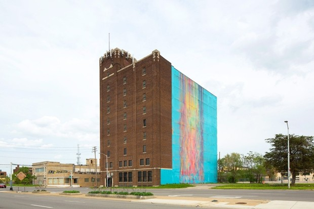 An Artist Sues to Save Her Landmark Detroit Mural