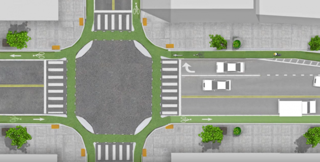 Dutch invented a new type of intersection that could saves lives