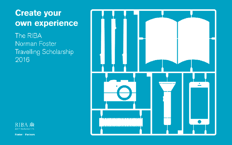 2016 RIBA Norman Foster Travelling Scholarship call for entries