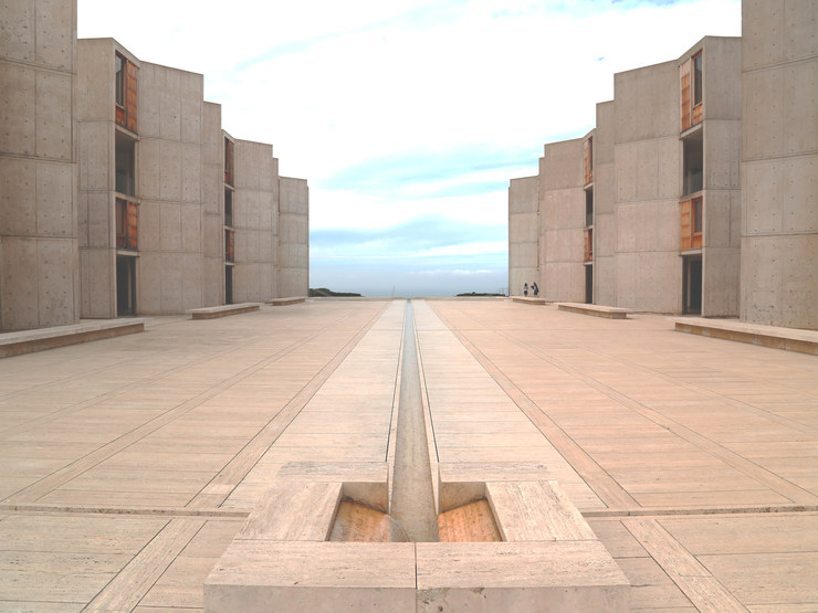 Tour Louis Kahn's Salk Institute in La Jolla, California