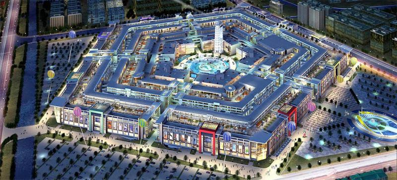 China's Enormous Derelict Shopping Mall Does Not Bode Well For Humanity's Future