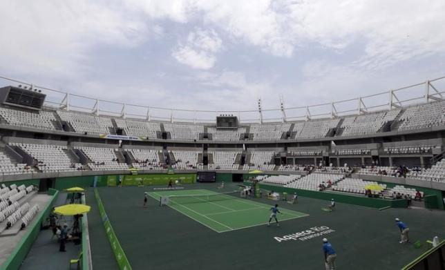 Rio cancels contract for Olympic tennis center due to delays
