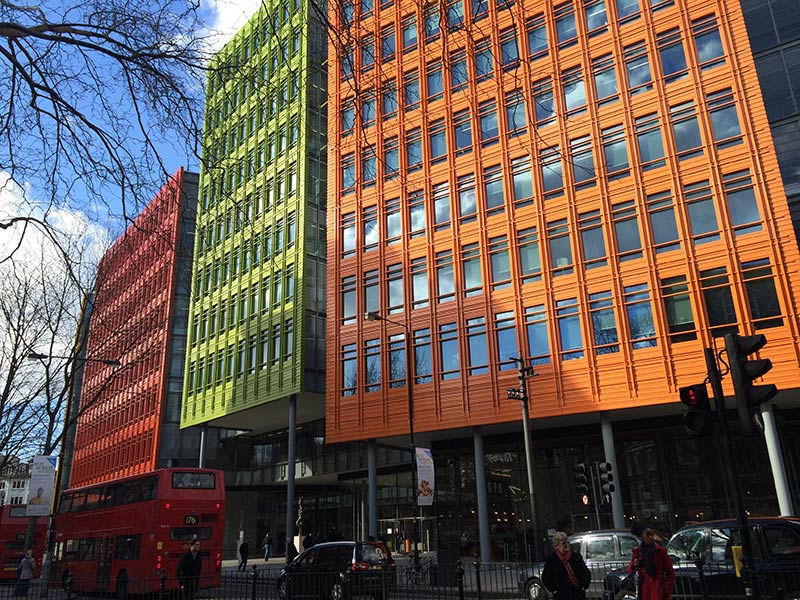 London design hotspot: the colourful Central Saint Giles