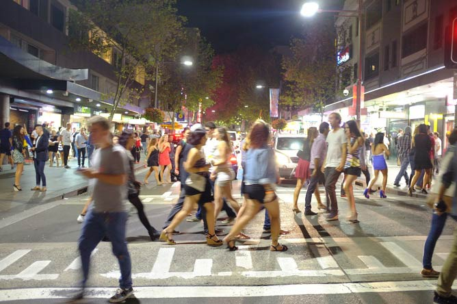 Good urban planning can reduce drunken violence