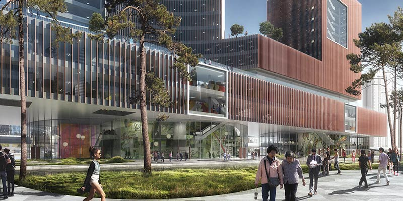 Schmidt hammer lassen to design major mixed-use cultural project in shanghai, china