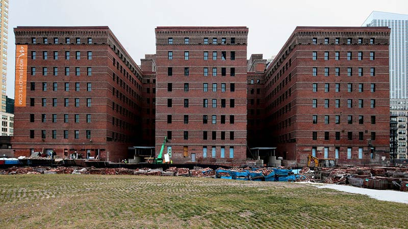 Jersey City Warehouse Converted to Rental Lofts