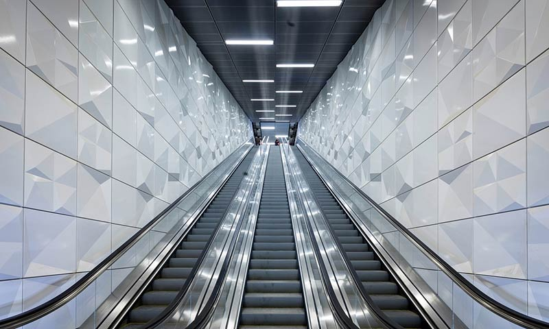 Ad-free art on the underground: Düsseldorf's 'pure' new metro line