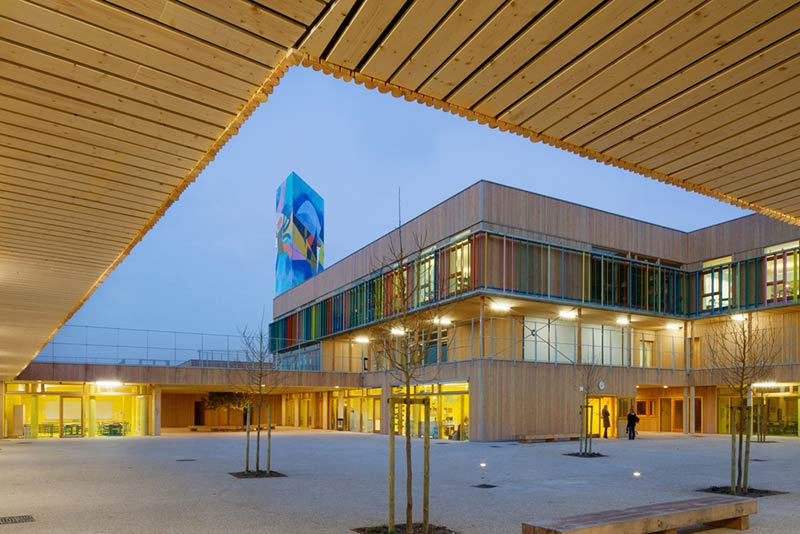 School complex Pasteur / r2k Architects
