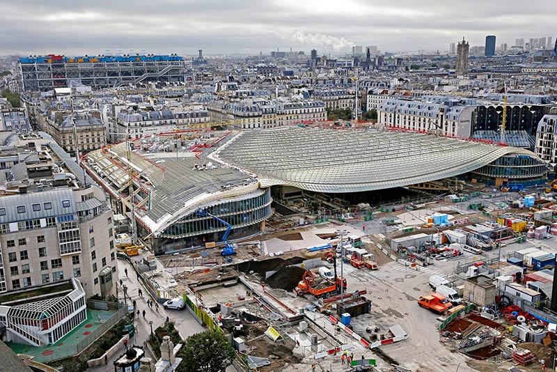 Paris hopes €1bn revamp of Les Halles can become city's 'beating heart'