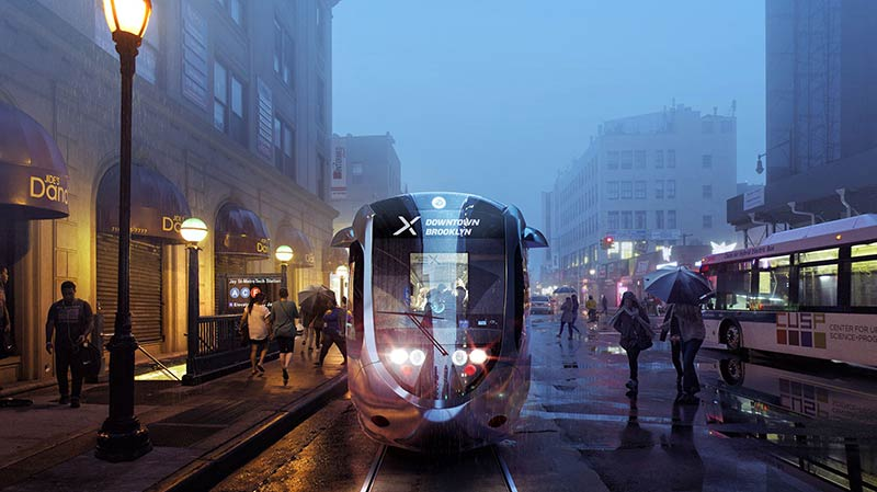 Sneak peek at de Blasio streetcar's likely Queens-Brooklyn route