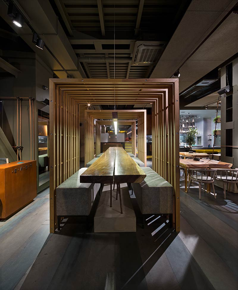 East restaurant yod design studio architecture lab