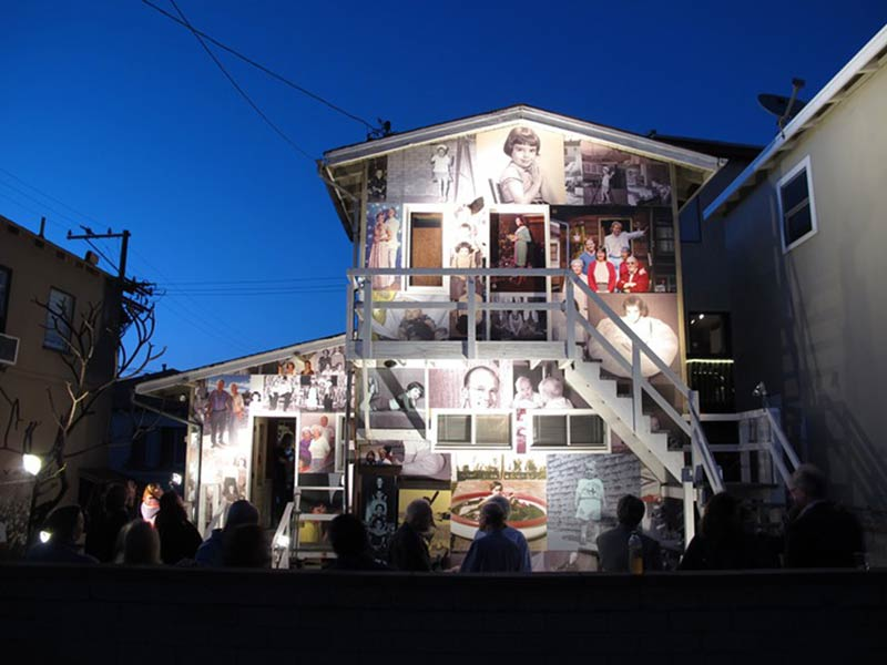 Why a house in Manhattan beach is covered in a family's memories