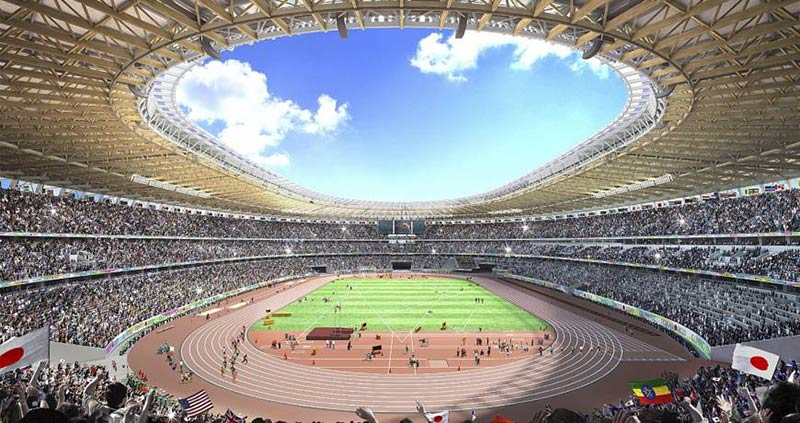 Despite new design, controversy may dog Tokyo's Olympic stadium long after last lap is run