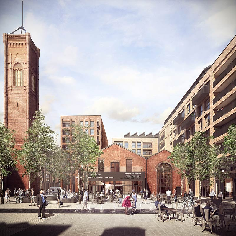 Jestico + Whiles given green light for Tower Works in Leeds