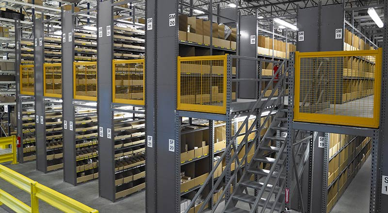 The architect's toolbox: fitting a warehouse mezzanine