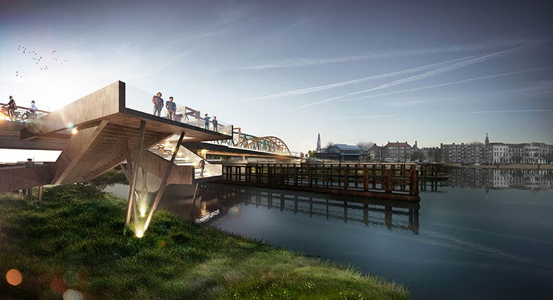 MoederscheimMoonen Architects to design widening of Oude IJsselbrug in Zutphen, the Netherlands