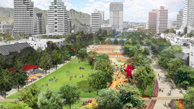 Exploring LA Glendale's Proposed Freeway Cap Park