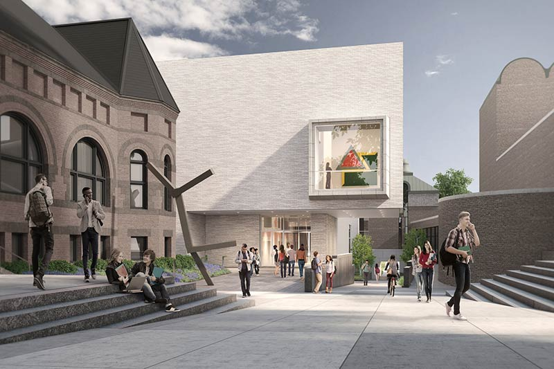 Hood Museum Renovation Causes a Split
