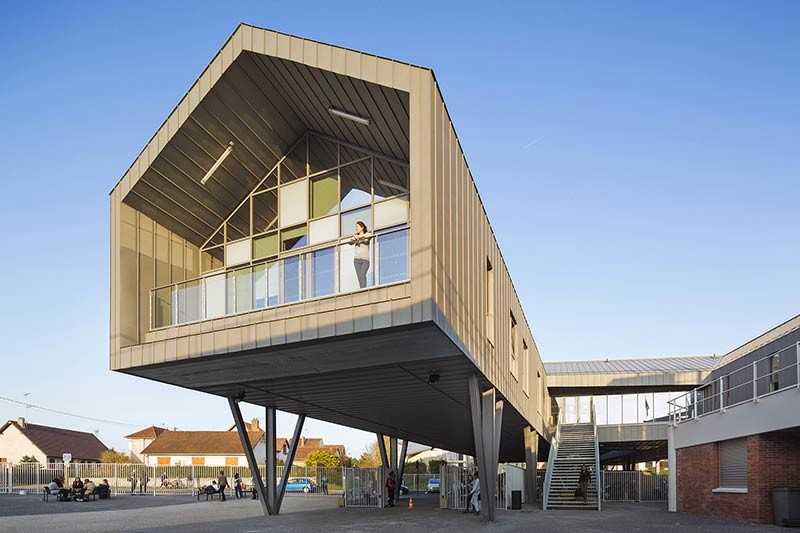 Louise Michel high school Gisors / archi5