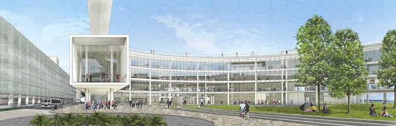 Expedia lays out plan for airy, expansive waterfront campus