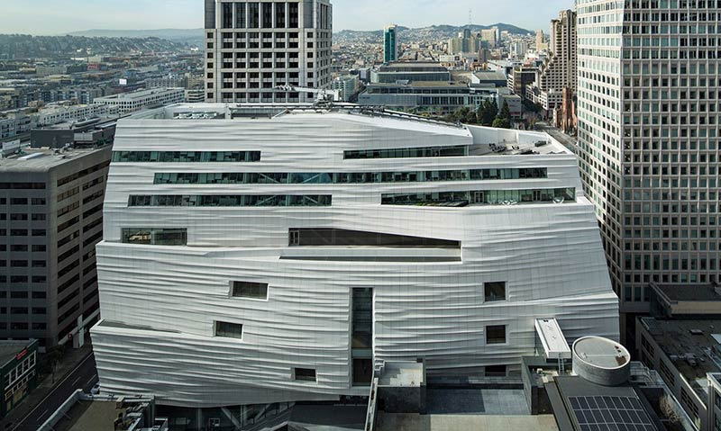 SFMOMA's new extension – a gigantic meringue with a hint of Ikea