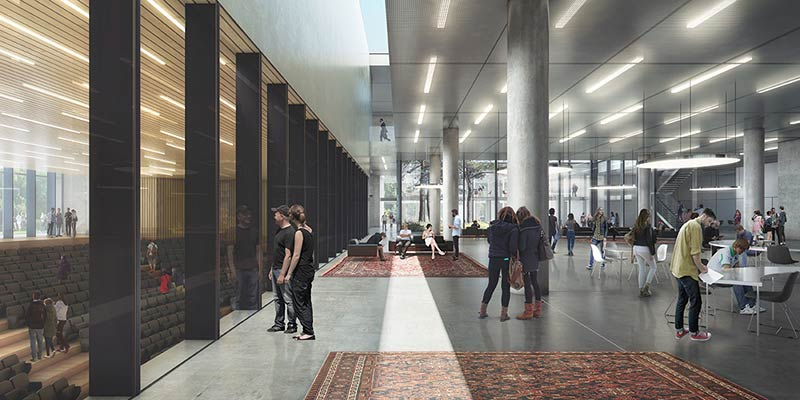KAAN Architecten designs new Tilburg University building