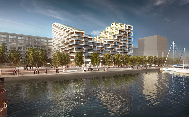 3XN designed Bayside Toronto establishes New Vertical Neighbourhood on Waterfront