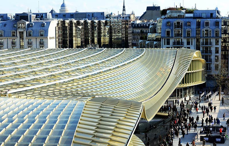A custard-coloured flop: the €1bn revamp of Les Halles in Paris