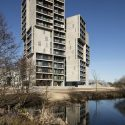 Campus hall - student housing for the university of southern denmark / c. F. Møller