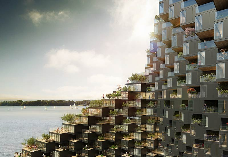 ODA's Newest Proposal In Green Urban Spaces: Inspired By Phototaxis?