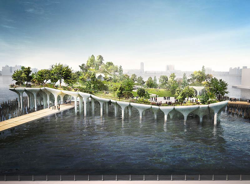 Manhattan's Pier55 gets the green light